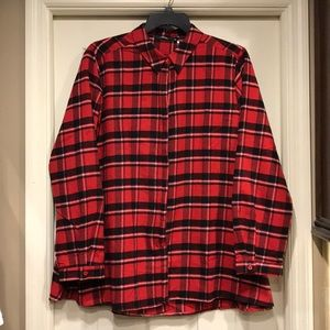 NWT Andree Flannel Blouse